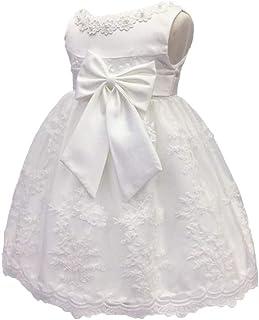 b300fb65e LZH Bebé Infantil Niñas Vestido de Bautizo de Cumpleaños Bautismo Vestido de  Banquete de Boda
