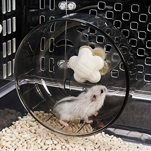 Haustier Laufrad Acryl Kunststoff Super Silent Roller Übung Laufrad Spielzeug für Hamster Guinea