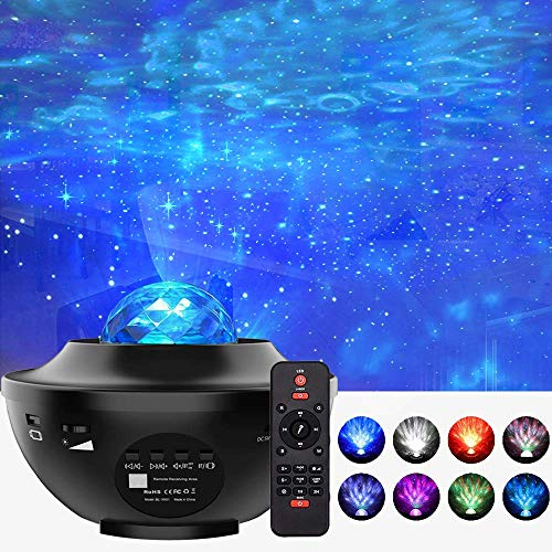 Foreita Music Night Light Projector - Star Light Projector with Remote...