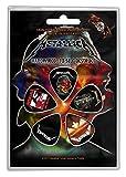 Metallica 5 Plettro Confezione (Ro )