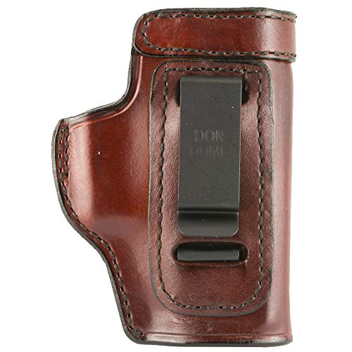 RRAGES Don Hume H715-M Clip On IWB Holster for Glock 43 RH Brown