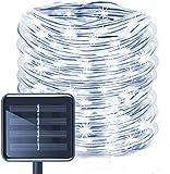 Solar Rope Lights, EONANT 39ft / 12M 100LED Impermeabilice las Luces de Cadena de Alambre de Tubo de Cobre para Jardín, Patio,...