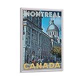 Znimo Vintage Travel Posters Montreal Drucken Poster