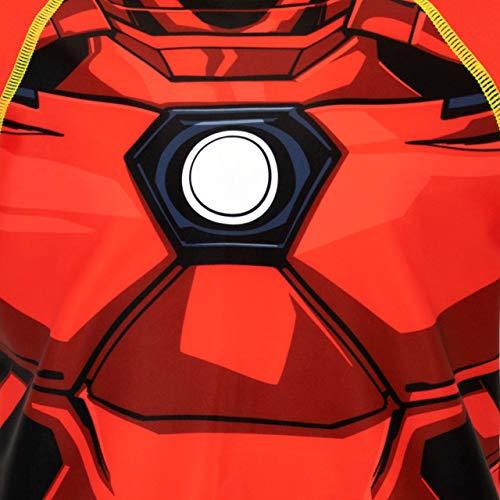 Marvel Costume da Bagno per Ragazzi a Due Pezzi Iron Man Multicolore 4-5 Anni