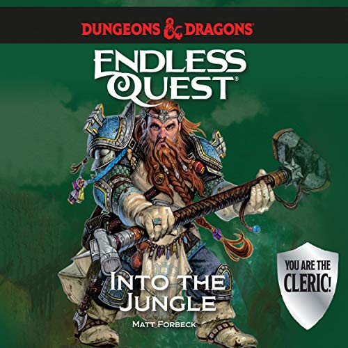 Dungeons & Dragons: Into the Jungle audiobook cover art