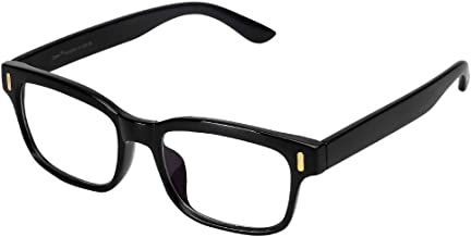 Cyxus Blue Light Blocking Computer Glasses Frame(Men/Women) (8084T01, Classic Black)