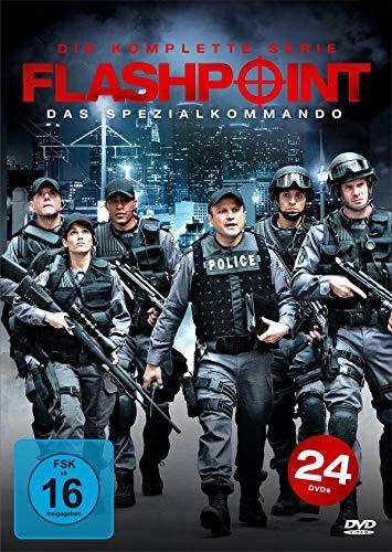 Flashpoint - Das Spezialkommando - Die komplette Serie (Keepcase) (24 DVDs)