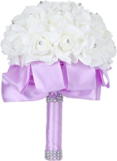 lavender rose bouquets for weddings