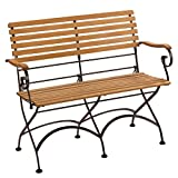 Gartenbank Montgomery 2-Sitzer FSC® 88 cm x 111 cm x 54 cm
