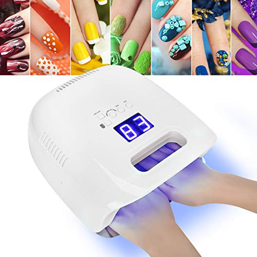 Secador de máquina de curado de uñas Secador de esmalte de uñas LED Durable para mujeres para maquillaje de belleza(Transl)