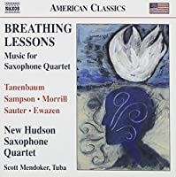 Saxophone Music by New Hudson Saxophone Quartet (2011-07-26)