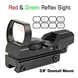 Best Reflex Sights - TACFUN Red and Green Reflex Sight with 4 Review