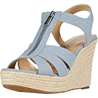 Michael Kors Berkley Espadrille Wedge Sandals