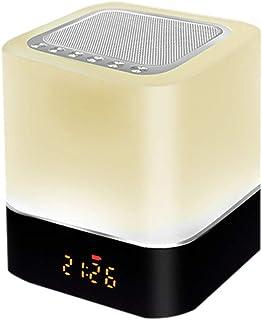 Goolrc Led BT Speaker Multifunctional Touching Night Light Intelligent Desk Lamp Alarm Clock Music Player