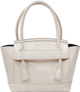 High capacity Shoulder Bags fashion handbag White