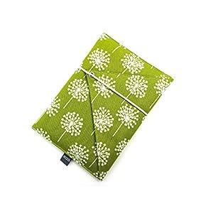 gefütterte Schutzhülle für eBook-Reader Handgenäht aus Baumwolle Design: 02EU0013