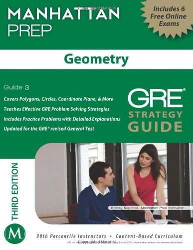Download Geometry GRE Strategy Guide, 3rd Edition (Manhattan Gre Strategy Guide: Instructional Guide) 1935707930