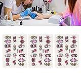 Pegatinas de uñas 5D, calcomanías de uñas,...