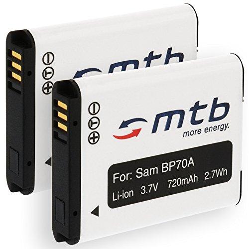 2X Batería EA-BP70A para Samsung PL20, PL80, PL90, PL100. / ST30, ST60. / ES80. (Ver Lista)