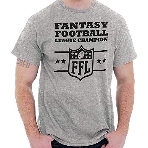 Graphic Fantasy Football Trophy League Championship FFL Gift T-Shirt