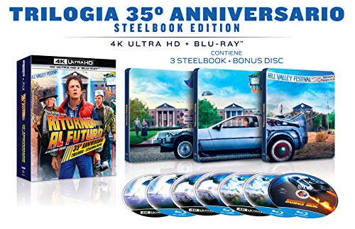 Ritorno Al Futuro: The Ultimate Trilogy - Steelbook Collection 35° Anniversario (Box Set) (7 Blu Ray)