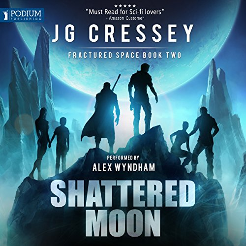 Shattered Moon audiobook cover art