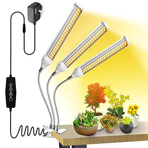 Wolezek 150W LED Grow Light White, Sunlike 315 LED Full Spectrum Grow Lamp, 360 Degree Flexible Gooseneck Plant Light for Indoor Greenhouse Hydroponic Plants Seeding, Growing, Flowering