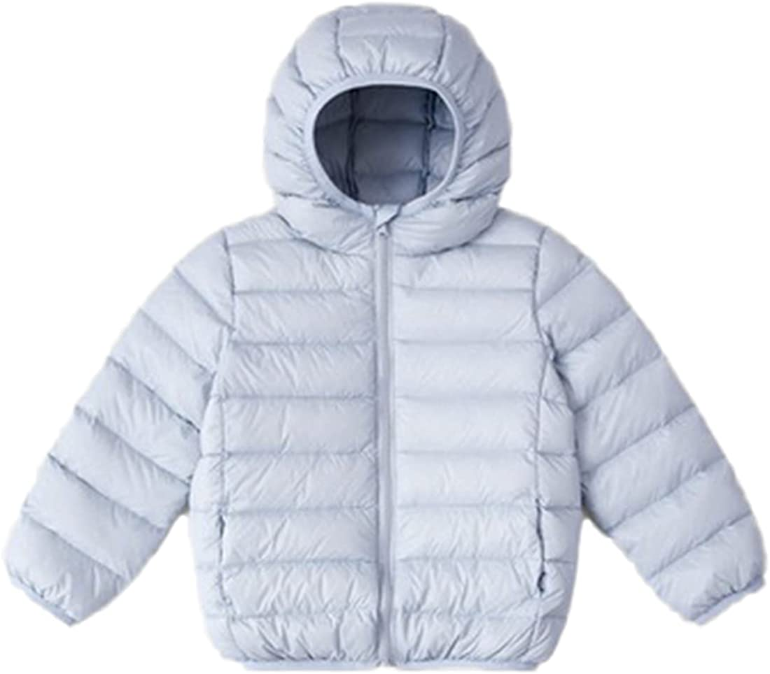 Boys Girls Lightweight El Paso Ranking integrated 1st place Mall Winter Warm Hoods Jacket Padded Puffer Wi