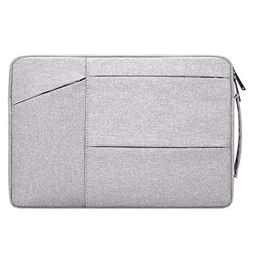 Laptop-Schutzhülle, wasserdicht, für Laptops, grau, 15.6inches