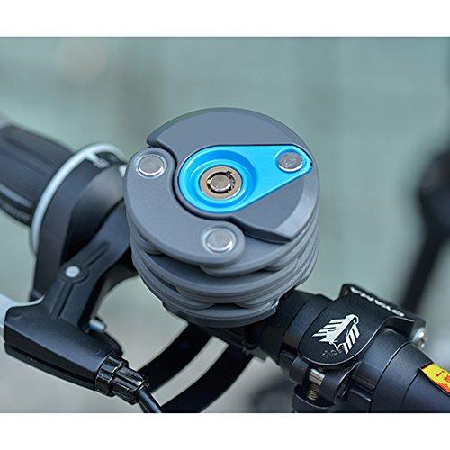 Fahrradschloss Faltschloss mit 3 Tasten - 5