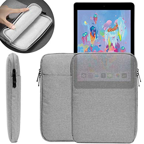 UNIDOPRO 9.7~11 inch Waterproof Sleeve Case Protective Pouch Bag Cover Compatible iPad Air 2019 / iPad 2 3 4 2017 2018 / iPad Pro 9.7 10.5 11 inch, Samsung Galaxy Tab S6 10.5 S5e S4 S3 S2 Tablet