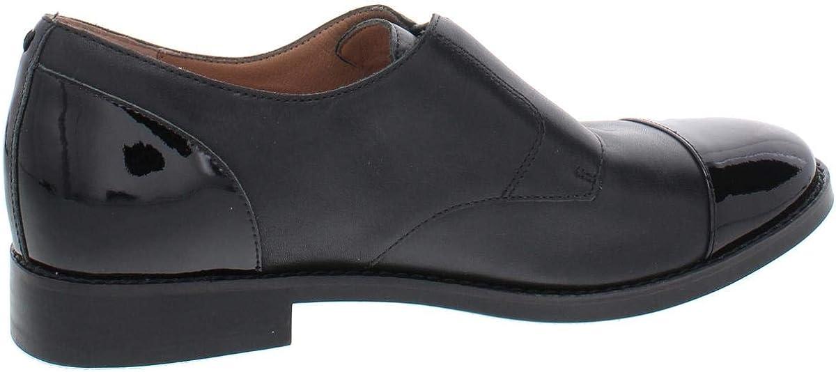 Vionic Womens Wise Jayla Black Suede Tortoise Loafers Size 5
