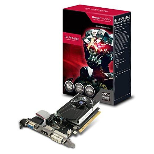 SAPPHIRE Radeon R7 240 1024MB DDR3 64bit PCI-E HD