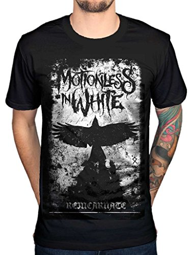 AWDIP Men's Official Phoenix Motionless In White T-Shirt MIW Gothic Heavy Metal Band
