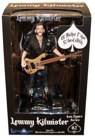 Unbekannt Motörhead Lemmy Kilmister Deluxe Figuren Rickenbacker Gitarre Eagle
