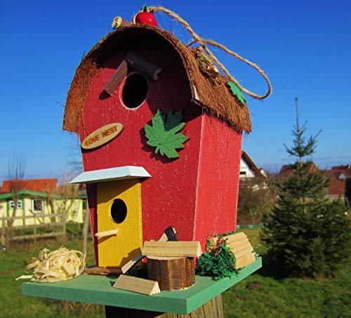 HÜWÜKNÜ Vogelhaus Love Nest
