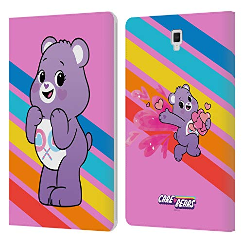 Official Care Bears Share Characters Leather Book Wallet Case Cover Compatible For Galaxy Tab S4 10.5 (2018)