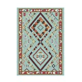 Alfombra decoración del hogar Alfombras geométricas persas y tapetes para Sala de Estar sofás Pisos Antideslizantes felpudos marroquíes tapetes para Dormitorio