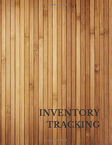 Inventory Tracking: Large 8.5 Inches By 11 Inches
