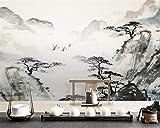 Wnyun 3D Fond d'écran Personnalisé Tissu de soie Moderne Peinture Murale Fond Décoratif salon Canapé TV fond Mural Papier Peint Décor À La Maison Haute - Résumé animal fleur paysage-200cmx140cm