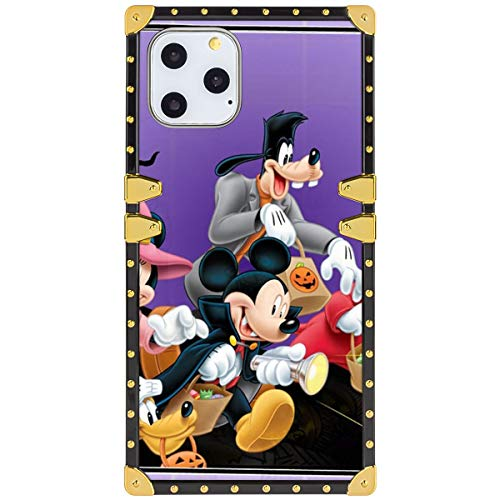 Disney Collection Iphone 11 Pro Max Square Phone Shell Case 2019 6 5 Inch Halloween Mickey Mouse And Minnie Mouse Goofy Donald Duck Pluto Disney Halloween Wallpaper Buy Online In Guatemala Disney