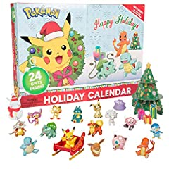 FIRST EVER SPECIAL EDITION - Get yours now, never before has their been an advent calendar for Pokemon - Introducing the 24 Piece 2020 Pokémon Advent Calendar for kids! Gotta Catch 'Em All this Holiday season! Children can create and display their ow...