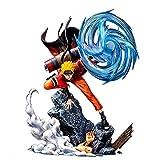 39Cm Anime Naruto Shippuden Gk Figurita Uzumaki Uchiha Sasuke Modelo, PVC Figura De Acción Colección De Escritorio Juguetes Muñeca