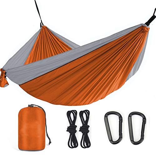 Favorland Camping Hammock Double & Single with Tree Straps for Hiking, Backpacking, Beach, Yard - 2...