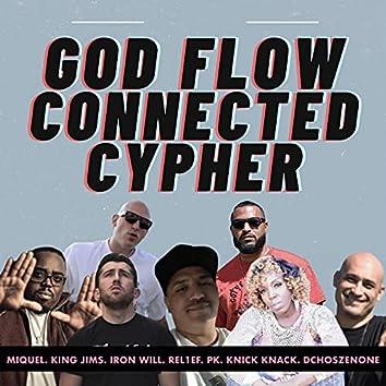 God Flow Connected Cypher (feat. MIQUEL, King Jims, REL1EF, Iron Will, PK & Dchoszenone)