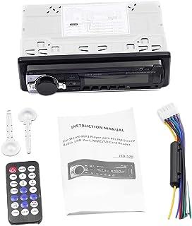 gazechimp Rádio de áudio Estéreo de Carro Bluetooth MP3 Player FM/SD USB AUX No Painel 1 Din