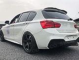 Coche ABS Alerón Traserode labio de techo para BMW 1 Series F20 F21 116i 120i 118i M135i 2012-2018, Trasero Techo Maletero Spoiler Cola Lip Spoiler