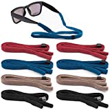 Best Eyewear Retainers - 8 Pieces Sunglass Glasses Straps, EAONE Adjustable Eyewear Review