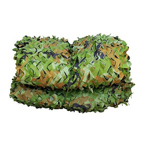 mmmy Filet d'Ombrage Camouflage, Filet De Camouflage Filet d'Ombrage pour La Chasse Au Camping, Convient Aux Parasols Extérieurs à La Verdure en Montagne Et à La Chasse(4m*6m(13.12ft*19.68ft))