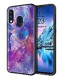 DOMAVER Samsung Galaxy A40 Case, Samsung A40 Case Purple